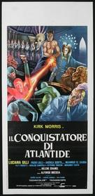Il conquistatore di Atlantide - Italian Movie Poster (xs thumbnail)