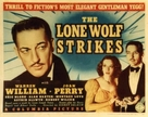 The Lone Wolf Strikes - Movie Poster (xs thumbnail)