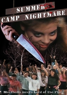 Summer Camp Nightmare - DVD cover (xs thumbnail)