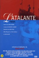 L'Atalante - South Korean DVD movie cover (xs thumbnail)