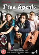 """""""Free Agents"""" - British DVD movie cover (xs thumbnail)"""