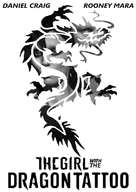 The Girl with the Dragon Tattoo - Movie Poster (xs thumbnail)