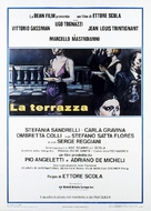 La terrazza - Italian Movie Poster (xs thumbnail)