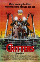 Critters - Theatrical movie poster (xs thumbnail)