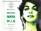 MATANGI/MAYA/M.I.A. - British Movie Poster (xs thumbnail)