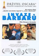 Invasions barbares, Les - Czech Movie Poster (xs thumbnail)