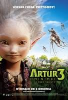 Arthur et la guerre des deux mondes - Polish Movie Poster (xs thumbnail)