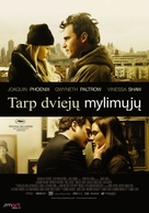 Two Lovers - Lithuanian Movie Poster (xs thumbnail)