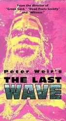 The Last Wave - VHS movie cover (xs thumbnail)