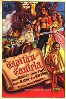 Captain Caution - Spanish Movie Poster (xs thumbnail)