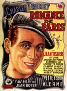 Romance de Paris - French Movie Poster (xs thumbnail)