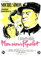 Impossible Monsieur Pipelet, L' - French Movie Poster (xs thumbnail)