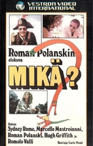 Che? - Finnish VHS movie cover (xs thumbnail)