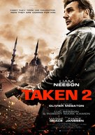 Taken 2 - Dutch Movie Poster (xs thumbnail)
