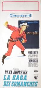 Comanche - Italian Movie Poster (xs thumbnail)
