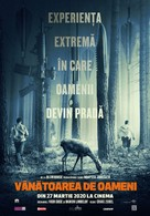 The Hunt - Romanian Movie Poster (xs thumbnail)