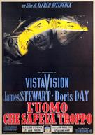 The Man Who Knew Too Much - Italian Movie Poster (xs thumbnail)
