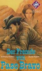 Uno straniero a Paso Bravo - German VHS cover (xs thumbnail)