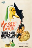 I Married a Witch - Argentinian Movie Poster (xs thumbnail)