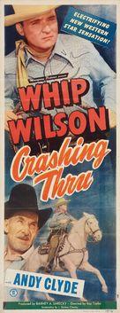 Crashing Thru - Movie Poster (xs thumbnail)