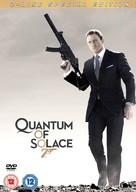 Quantum of Solace - British Movie Cover (xs thumbnail)