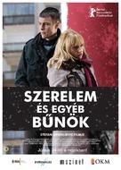 Ljubav i drugi zlocini - Hungarian Movie Poster (xs thumbnail)