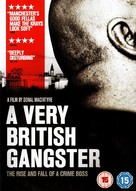 A Very British Gangster - British DVD cover (xs thumbnail)