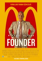 The Founder - Turkish Movie Poster (xs thumbnail)