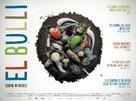El Bulli: Cooking in Progress - British Theatrical poster (xs thumbnail)