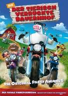 Barnyard - German DVD movie cover (xs thumbnail)