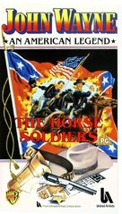 The Horse Soldiers - British VHS movie cover (xs thumbnail)
