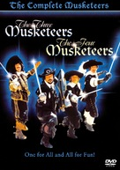 The Four Musketeers - Movie Cover (xs thumbnail)