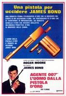The Man With The Golden Gun - Italian Movie Poster (xs thumbnail)