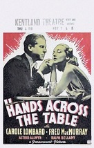 Hands Across the Table - Theatrical poster (xs thumbnail)