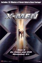 X-Men - Video release movie poster (xs thumbnail)
