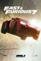 Furious 7 - Lebanese Movie Poster (xs thumbnail)