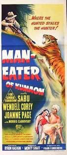 Man-Eater of Kumaon - Australian Theatrical movie poster (xs thumbnail)