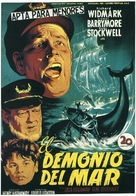 Down to the Sea in Ships - Spanish Movie Poster (xs thumbnail)