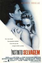 Basic Instinct - Brazilian Movie Poster (xs thumbnail)