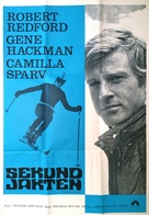 Downhill Racer - Swedish Movie Poster (xs thumbnail)