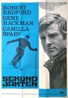 Downhill Racer - Swedish Movie Poster (xs thumbnail)