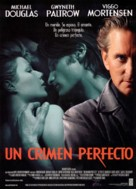A Perfect Murder - Spanish Movie Poster (xs thumbnail)