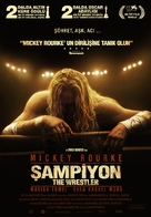 The Wrestler - Turkish Movie Poster (xs thumbnail)
