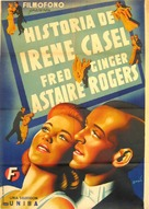 The Story of Vernon and Irene Castle - Spanish Movie Poster (xs thumbnail)