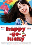 Happy-Go-Lucky - German Movie Poster (xs thumbnail)