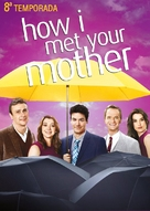 """""""How I Met Your Mother"""" - Brazilian DVD movie cover (xs thumbnail)"""