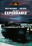 They Were Expendable - DVD cover (xs thumbnail)