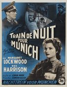 Night Train to Munich - Belgian Movie Poster (xs thumbnail)