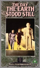 The Day the Earth Stood Still - British VHS movie cover (xs thumbnail)
