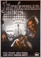 La corona di ferro - Swedish Movie Poster (xs thumbnail)